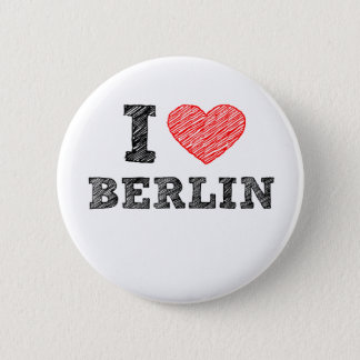 I Love Berlin 6 Cm Round Badge