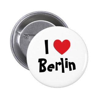 I Love Berlin Button