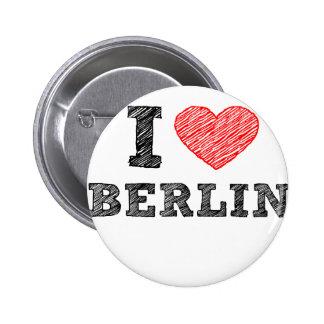 I Love Berlin Pin