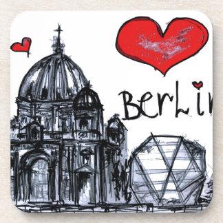 I love Berlin Beverage Coaster