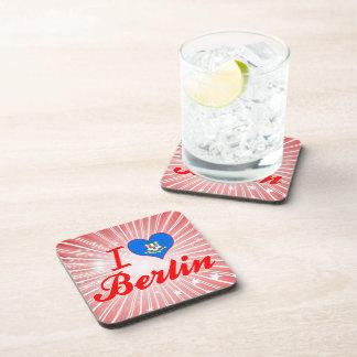 I Love Berlin Connecticut Coaster
