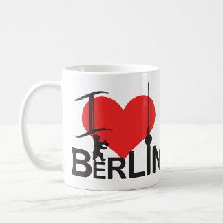 I Love Berlin cup Basic White Mug