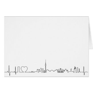 I love Berlin (ecg style) souvenir Card