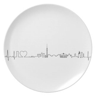 I love Berlin (ecg style) souvenir Dinner Plate