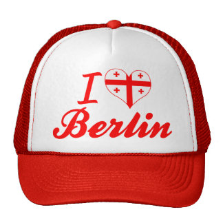 I Love Berlin, Georgia Mesh Hats