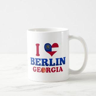 I Love Berlin, Georgia Coffee Mug