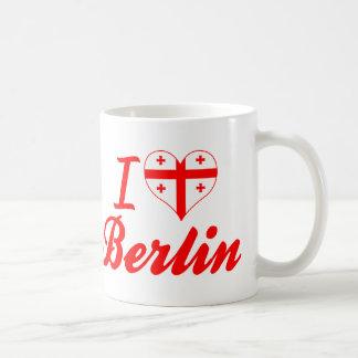I Love Berlin, Georgia Mugs