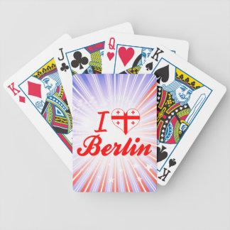 I Love Berlin Georgia Poker Deck