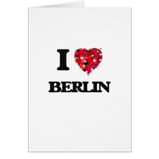 I love Berlin Germany Greeting Card