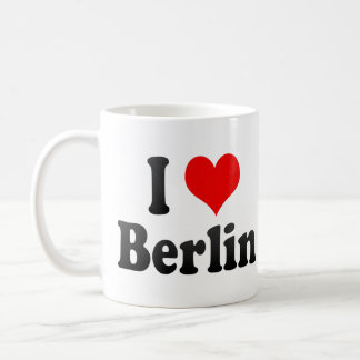 I Love Berlin, Germany. Ich Liebe Berlin, Germany Coffee Mug