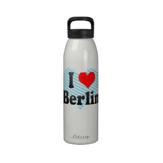 I Love Berlin, Germany. Ich Liebe Berlin, Germany Reusable Water Bottle