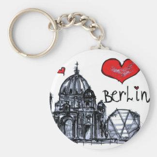 I love Berlin Keychains