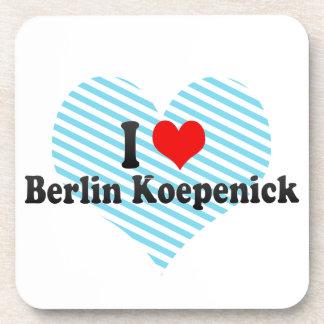 I Love Berlin Koepenick Germany Drink Coasters