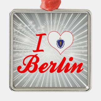 I Love Berlin, Massachusetts Christmas Ornament
