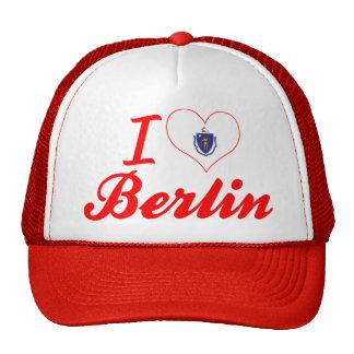 I Love Berlin, Massachusetts Mesh Hat