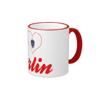 I Love Berlin, Massachusetts Coffee Mug