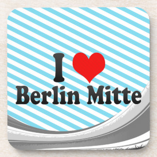 I Love Berlin Mitte Germany Coaster