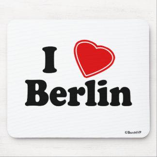 I Love Berlin Mousepads