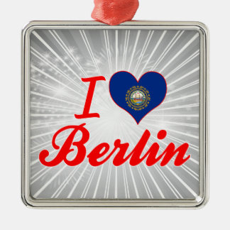 I Love Berlin, New Hampshire Christmas Ornaments