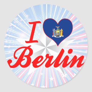I Love Berlin, New York Stickers