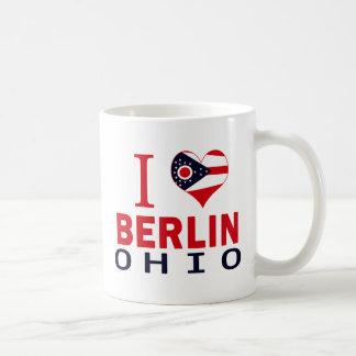 I love Berlin, Ohio Basic White Mug