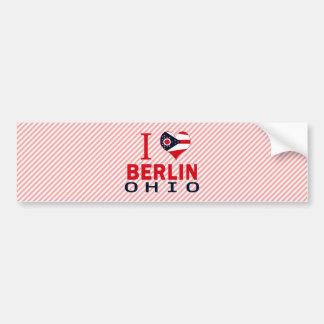 I love Berlin, Ohio Bumper Sticker