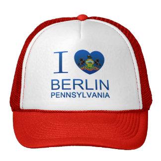 I Love Berlin, PA Trucker Hat
