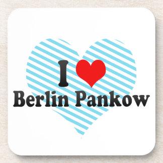 I Love Berlin Pankow Germany Coasters