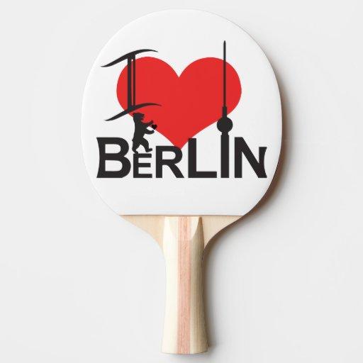 i love berlin ping pong schl ger zazzle. Black Bedroom Furniture Sets. Home Design Ideas