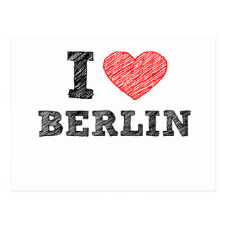 I Love Berlin Post Cards