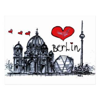 I love Berlin Postcard