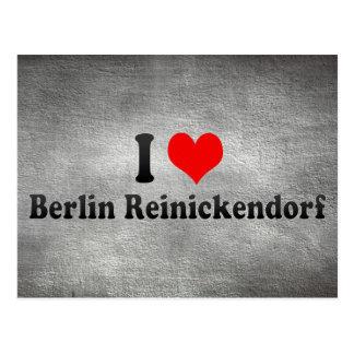 I Love Berlin Reinickendorf, Germany Postcard