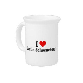 I Love Berlin Schoeneberg, Germany Pitcher