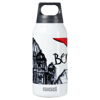 I love Berlin 10 Oz Insulated SIGG Thermos Water Bottle