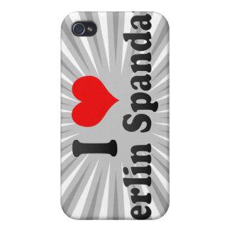 I Love Berlin Spandau, Germany iPhone 4/4S Case