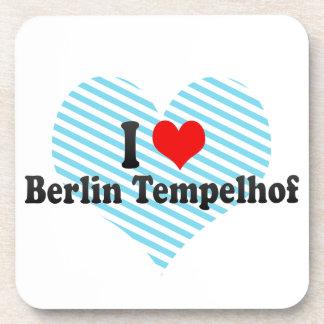 I Love Berlin Tempelhof Germany Drink Coasters