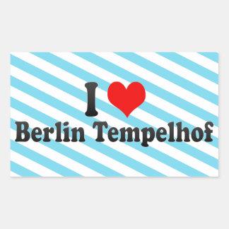 I Love Berlin Tempelhof, Germany Sticker