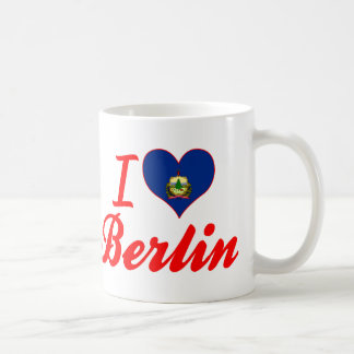 I Love Berlin, Vermont Mugs