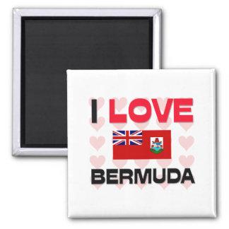 I Love Bermuda Magnet