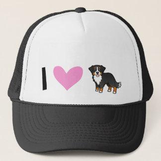 I Love Bernese Mountain Dogs Trucker Hat