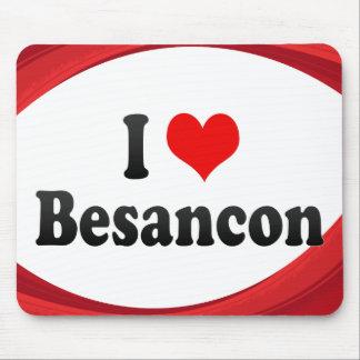 I Love Besancon, France Mousepad