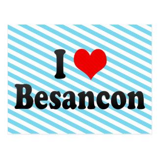 I Love Besancon, France Postcard