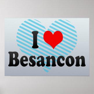 I Love Besancon France Print