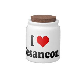 I Love Besancon, France Candy Dish