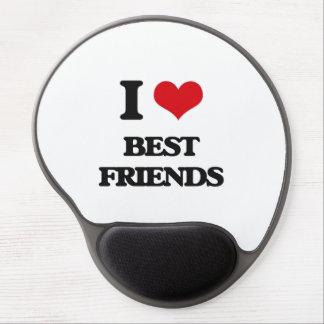 I Love Best Friends Gel Mouse Pads