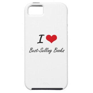 I Love Best-Selling Books Artistic Design iPhone 5 Case