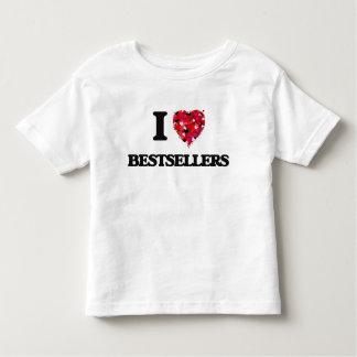 I Love Bestsellers Tee Shirt