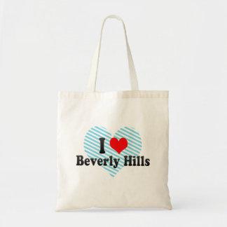 I Love Beverly Hills, United States Budget Tote Bag