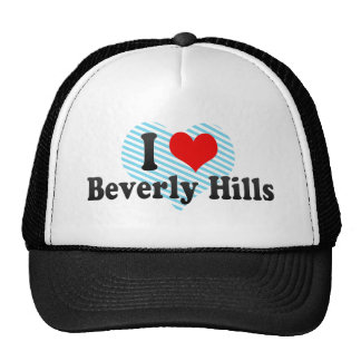 I Love Beverly Hills, United States Cap