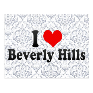 I Love Beverly Hills, United States Postcard